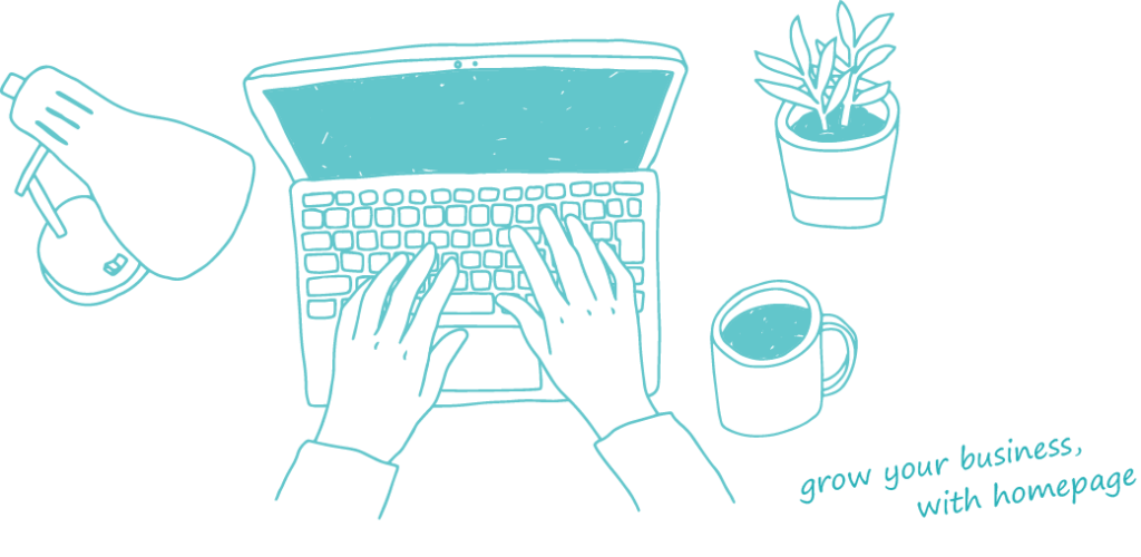 grow yourbusiness with homepage